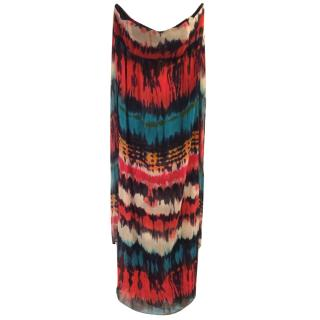 Milly strapless maxi dress