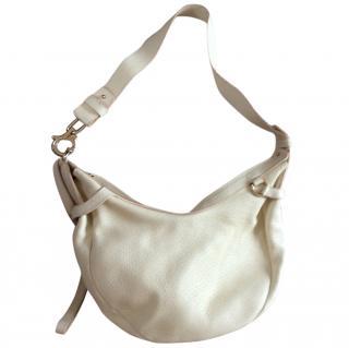 Salvatore Ferragamo buttermilk cream shoulder bag