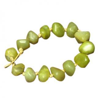 Pickett heavy stone bracelet