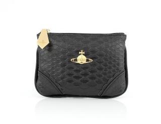 Vivienne Westwood Black snake coin purse