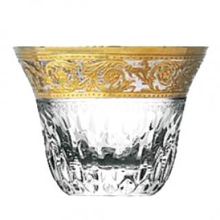 Hermes Saint Louis crystal tea cups