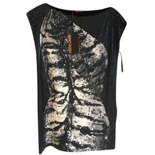 Roberto Cavalli sequin dress