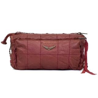 Zadig Voltaire Purple Crossbody Bag