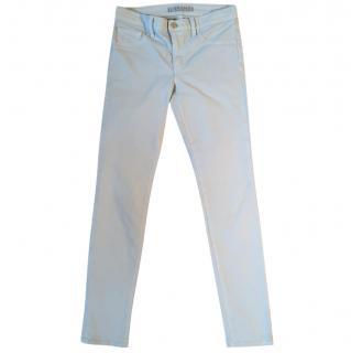 J Brand pale blue skinny stretchy jeans