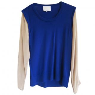 3.1 Phillip Lim wool and silk top
