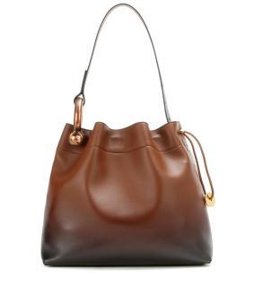 Tom Ford medium hook gradient leather shoulder bag with receipt
