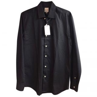 Hardy Amies navy shirt