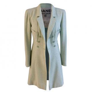 Vintage Chanel Boucle Coat Dress