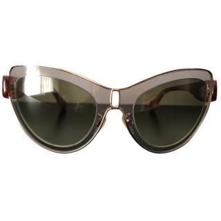 Balenciaga cat eye sunglasses