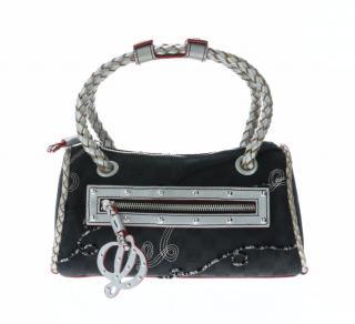 Loewe Vintage Black Fabric Mini Tote