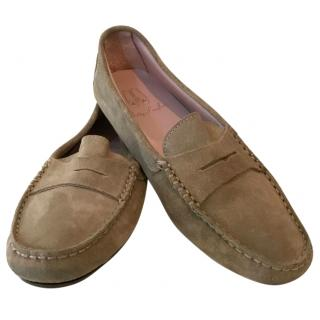 Pretty Loafers Suede Slippers