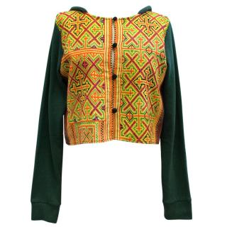Mochi Embroidered Hooded Jacket
