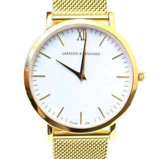 Larsson & Jennings Gold Lugano 40mm Watch