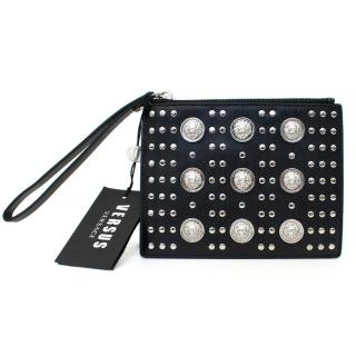 Versus Versace Black Studded Pouch