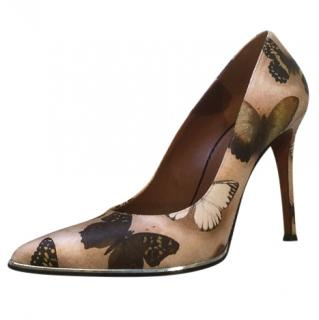 Givenchy Butterfly Print Heels