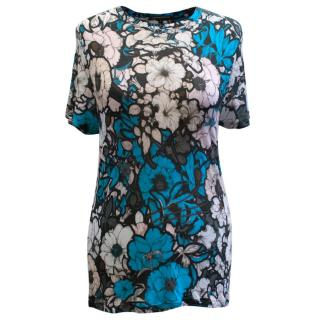 Christopher Kane Floral Patterned Top