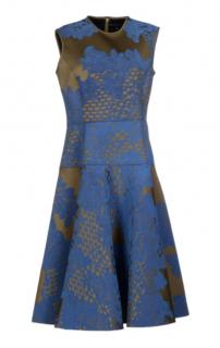 Jonathan Saunders Blue Kneelength Dress