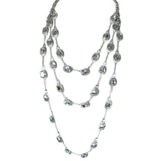 Otazu necklace with large crystals