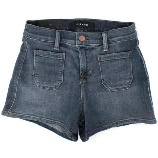 J Brand Jessica High-rise Patch Pocket Ashbury Shorts