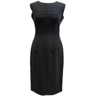 Dolce & Gabbana Black Fitted Dress