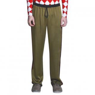 Jonathan Saunders High-Rise Wide-Leg Pants
