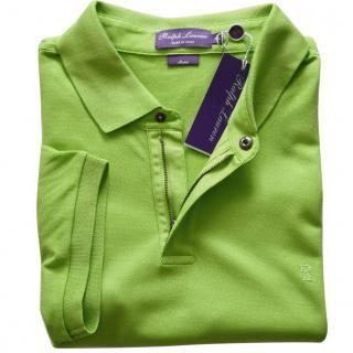 Ralph Lauren Purple Label cotton Zip-Placket Stretch Pique Polo Shirt