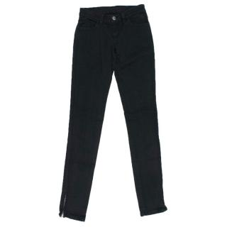 Ksubi Black Skinny Mid Rise Jeans
