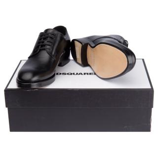 Dsquared2 leather derbies