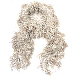 Pringle Cashmere Tassel Scarf