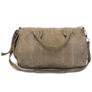 Alexander Wang Rockie Taupe Pebble Leather Bag