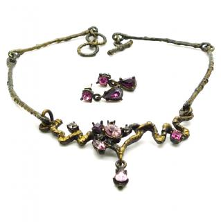 Christian Lacroix Necklace and Earrings Set