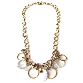 Dyrberg Kern chunky gold necklace
