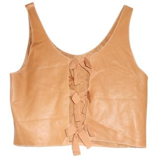 Phillip Lim summer light leather top