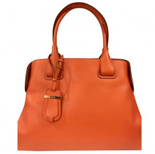 Tod's Cape Bag (Iconic Orange)