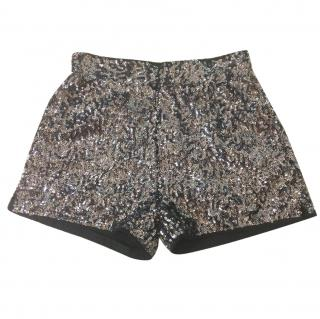 Karl Lagerfeld Sabine Sequined Shorts.