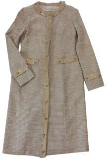 Carolina Herrera Tweed Coat