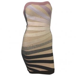 Herve Leger Mini Bandage Dress.