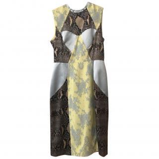 Erdem Lace Panelled Dress