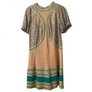 Missoni Gold Dress