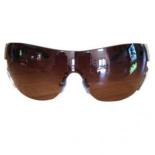Bvlgari brown sunglasses