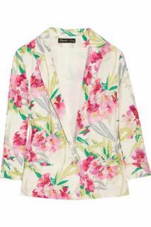 Elizabeth + James 'Bruce' Floral-Print Silk Jacket