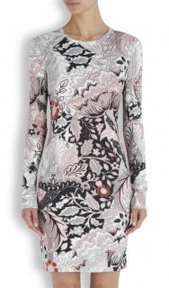 Jonathan Saunders Printed Stretch Jersey Dress