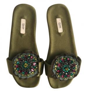Prada Slides Size 34