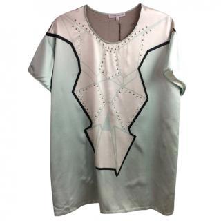 JONATHAN SAUNDERS Spark studded T-shirt dress