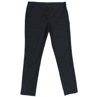 The Row Black Slim Fit Trousers