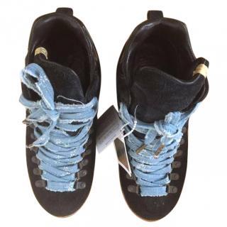 Visvim men's black boots