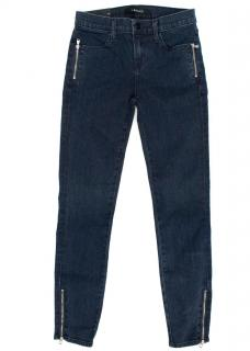 J brand High Rise Blue Denim Skinny Jeans
