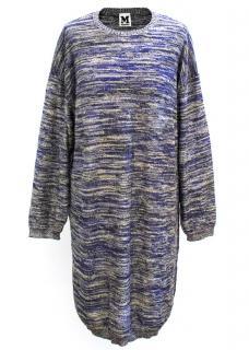 M Missoni Multicoloured Sweater Dress
