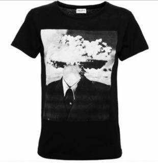 Saint Laurent Atomic head t-shirt