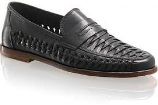 Russell and Bromley Uppercut Woven Loafers